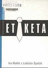 Etiketa obálka knihy