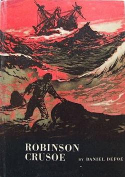 Robinson Crusoe obálka knihy