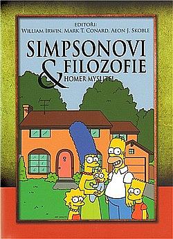 Simpsonovi a Filozofie (Homer myslitel) obálka knihy