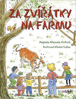 Za zvířátky na farmu obálka knihy