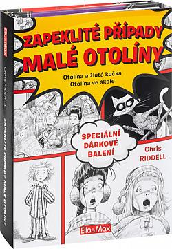 Zapeklité případy malé Otolíny obálka knihy