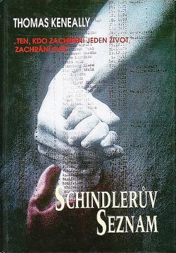 Schindlerův seznam obálka knihy