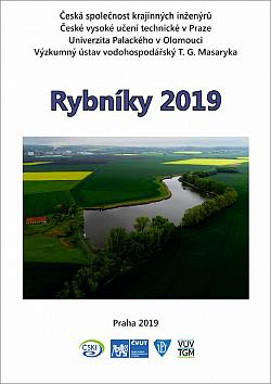 Rybníky 2019 obálka knihy