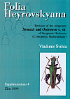Folia Heyrovskyana, Supplement 4: Revision of the Subgenera Stenaxis and Oedemera s. str. of the Genus Oedemera