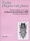 Folia Heyrovskyana, Supplement 2: World catalogue of the genus Anthaxia Eschscholtz, 1829