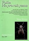 Folia Heyrovskyana, Supplement 3: Revision der im Südlichen Afrika Vorkommenden Arten der Gattungen Pelochroides Wittmer und Afrop