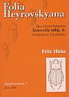 Folia Heyrovskyana, Supplement 7: Das Amara-Subgenus Xenocelia Subg. N.