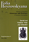 Folia Heyrovskyana, Supplement 8: Revision of the Genera Odontotrypes and Phelotrupes