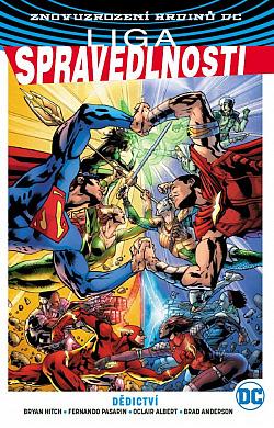 Liga spravedlnosti 5: Dědictví obálka knihy