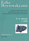 Folia Heyrovskyana, Supplement 11: Revision of the Neotropical Dung Beetle Genus Oxysternon