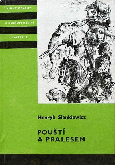 Kniha Pouští a pralesem (Henryk Sienkiewicz)