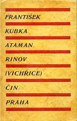 Ataman Rinov obálka knihy