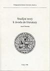 Studijní texty k úvodu do literatury
