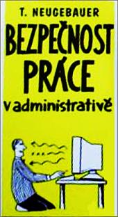Bezpečnost práce v administrativě obálka knihy