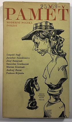 Paměť - moderní polská poezie obálka knihy