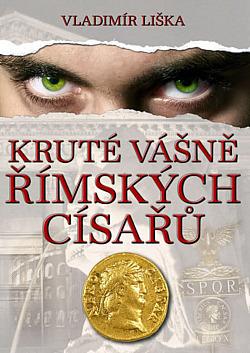 Kruté vášně římských císařů obálka knihy