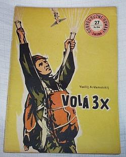 Volá 3 x obálka knihy