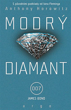 Modrý diamant obálka knihy