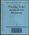 Poetika české meziválečné literatury