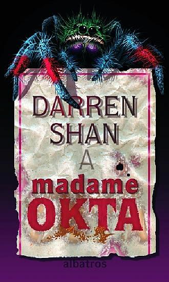 Kniha Madame Okta (Darren Shan)