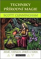Techniky přírodní magie: Země, vzduch, oheň a voda obálka knihy