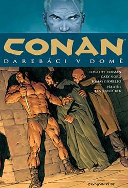 Conan: Darebáci v domě obálka knihy
