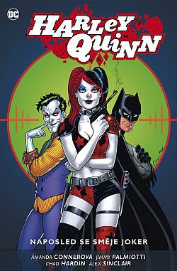 Naposled se směje Joker obálka knihy