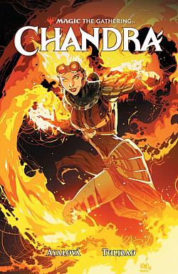 Magic the Gathering: Chandra obálka knihy