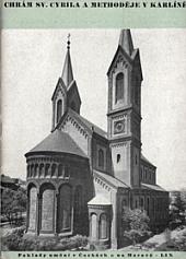 Chrám sv. Cyrila a Methoděje v Karlíně obálka knihy