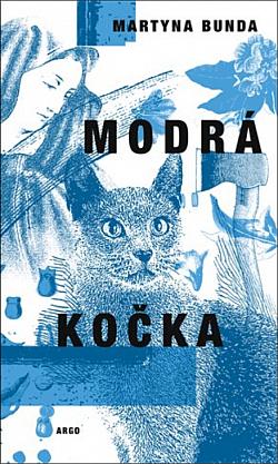 Modrá kočka obálka knihy