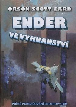 Ender ve vyhnanství obálka knihy