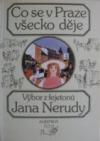 Co se v Praze všecko děje obálka knihy