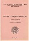 Teorie a praxe krizového řízení I.
