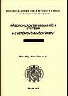 Předpoklady informačních systémů v systémovém inženýrství
