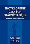 Encyklopedie českých právních dějin, XVIII. svazek Ta - Ty