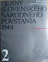 Dejiny Slovenského národného povstania 1944 2. zväzok