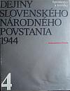 Dejiny Slovenského národného povstania 1944 4. zväzok
