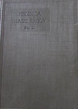 Knižnica našej školy sv. 1 obálka knihy