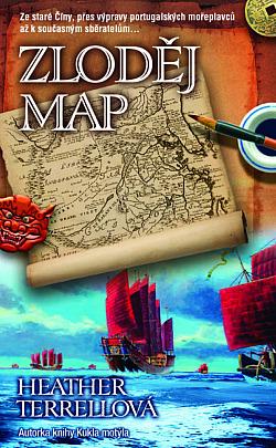 Zloděj map obálka knihy