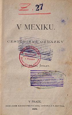 Za oceánem II. – V Mexiku obálka knihy
