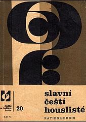 Slavní čeští houslisté obálka knihy