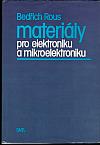 Materiály pro elektroniku a mikroelektroniku