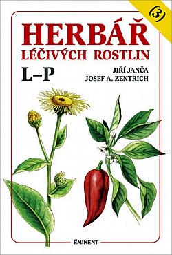 Herbář léčivých rostlin, 3. díl obálka knihy