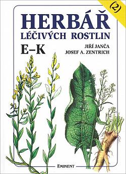 Herbář léčivých rostlin, 2. díl obálka knihy