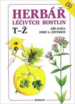 Herbář léčivých rostlin, 5. díl obálka knihy