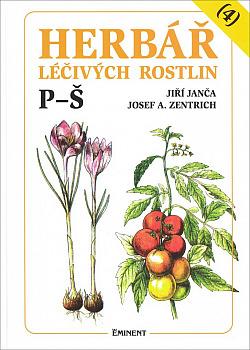 Herbář léčivých rostlin, 4. díl obálka knihy