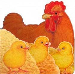 Kuřátko a jeho rodinka obálka knihy