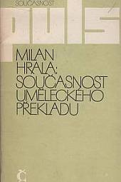 Současnost uměleckého překladu obálka knihy
