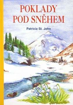 Poklady pod sněhem obálka knihy