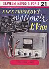 Elektronkový voltmetr EV101